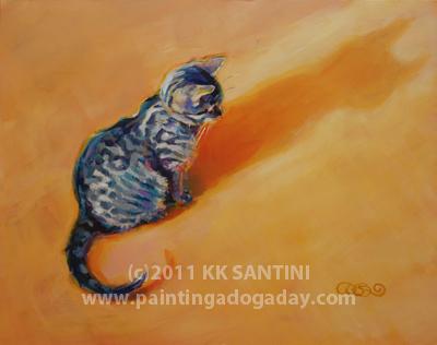 """You Are My Sunshine, Rework"" original fine art by Kimberly Santini"