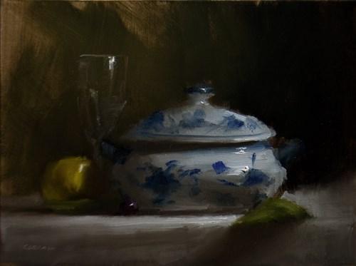 """""""Tureen Bowl"""" original fine art by Neil Carroll"""