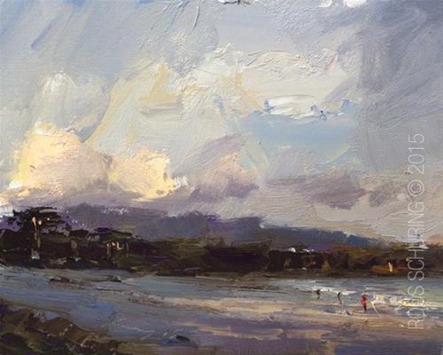 """""""California Morning Light"""" original fine art by Roos Schuring"""