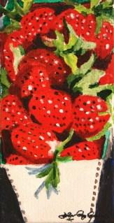 """Berry Good"" original fine art by JoAnne Perez Robinson"