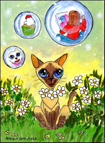 """Life is But a Dream"" original fine art by Patricia Ann Rizzo"