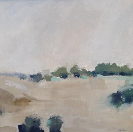 """""""Off Oak Grove"""" original fine art by Pamela Munger"""
