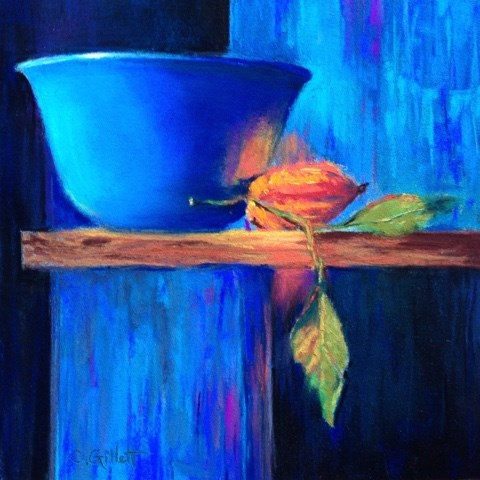"""Top Shelf"" original fine art by Cindy Gillett"