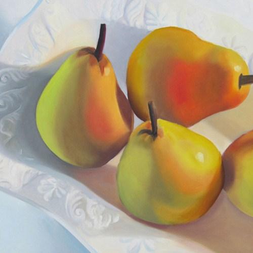 """Three Pair"" original fine art by Amy Hillenbrand"