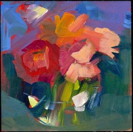 """1996 stream"" original fine art by Lisa Daria"