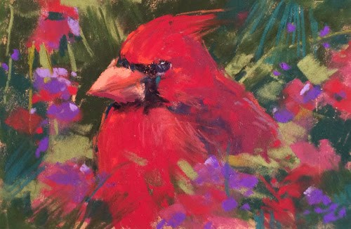 """""""Painting on the Go with a Small Travel Kit"""" original fine art by Karen Margulis"""