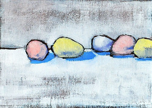 """""""Easter Candy Painting"""" original fine art by Kevin Inman"""