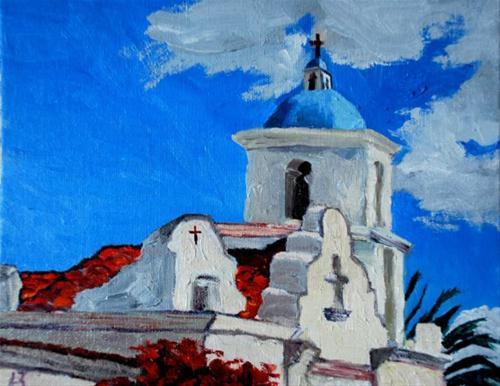 """Mission At a Glance"" original fine art by Liz Zornes"