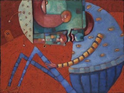 """Alejandro In Wonderland"" original fine art by Brenda York"
