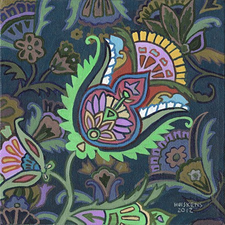 """Flower No. 3"" original fine art by Randal Huiskens"