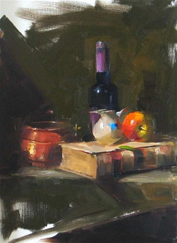 """Demo at LSAG 2010 Convention"" original fine art by Qiang Huang"