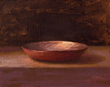 """""""Copper Plate (& One of My Favorite Places to Paint)"""" original fine art by Abbey Ryan"""