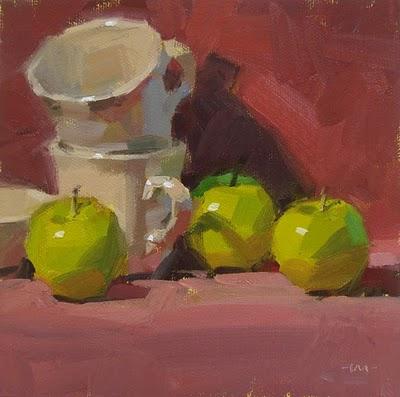 """High Perch"" original fine art by Carol Marine"