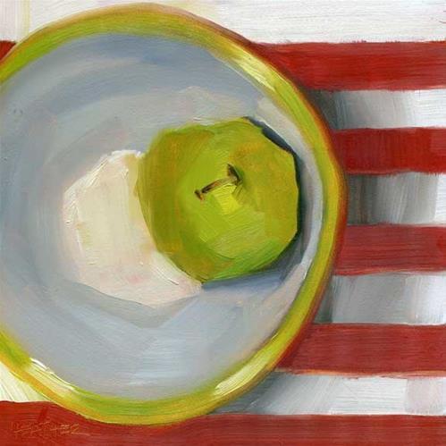 """""""Matching Bowl"""" original fine art by Heather Bennett"""