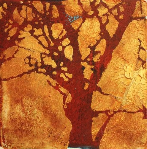 """Azo Afternoon, Contemporary Landscape Monoprints by Arizona Artist Amy Whitehouse"" original fine art by Amy Whitehouse"