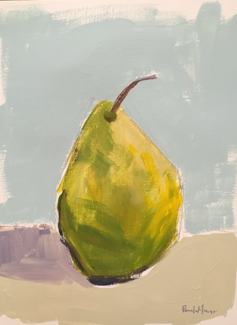 """Lovely Pear"" original fine art by Pamela Munger"