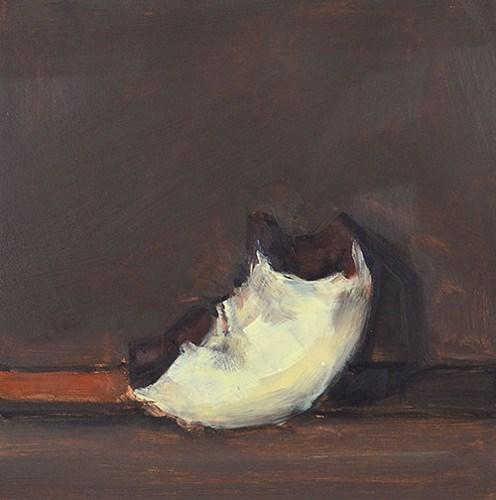 """""""What's Left of the Donut"""" original fine art by Kevin Inman"""