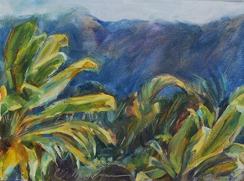 """""""Best of Both Worlds"""" original fine art by Carol DeMumbrum"""