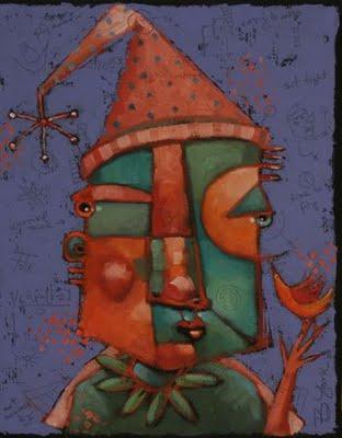 """Sweet Tart"" original fine art by Brenda York"