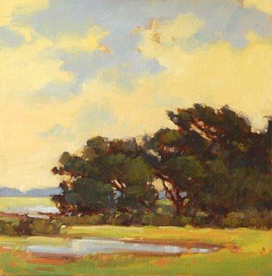 """Morning Bursts Forth"" original fine art by Laurel Daniel"