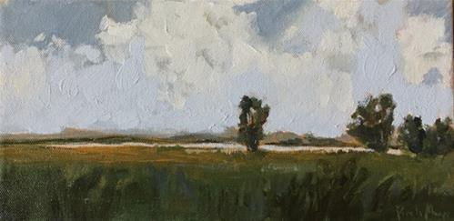 """""""along green river"""" original fine art by Pamela Munger"""