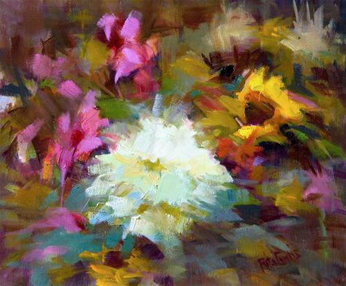"""""""Winter Bouquet"""" original fine art by Rita Curtis"""