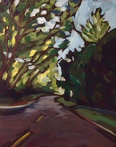 """Theo Wirth September"" original fine art by Kat Corrigan"