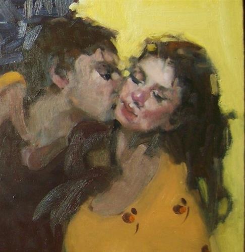 """""""Embrace"""" original fine art by Kim Roberti"""