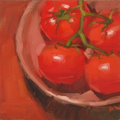 """Cozy in a Bowl --- SOLD"" original fine art by Carol Marine"