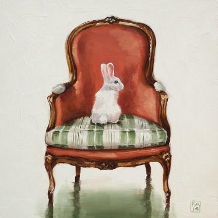 """""""bashful"""" original fine art by Kimberly Applegate"""