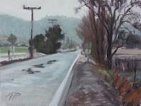"""Open Road"" original fine art by Anette Power"