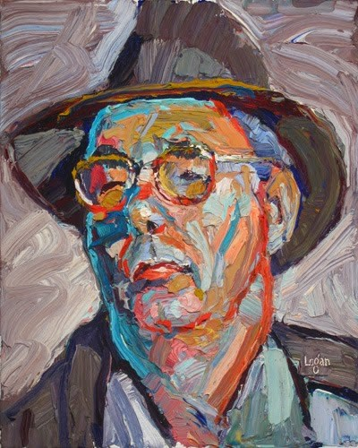 """The Other Jonathan"" original fine art by Raymond Logan"