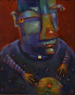 """Our Father"" original fine art by Brenda York"
