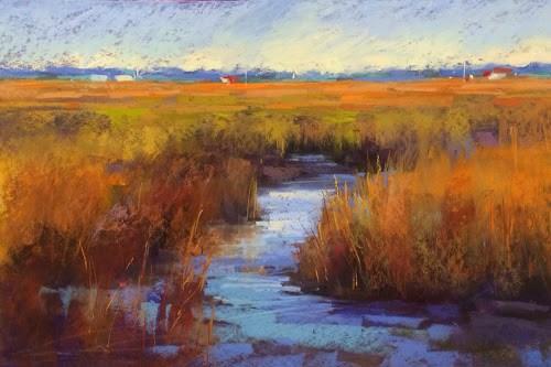 """Liz Haywood-Sullivan Workshop Report Day 2"" original fine art by Karen Margulis"