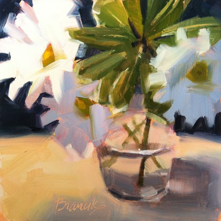 """The Remains of the Flowers"" original fine art by Candace Brancik"