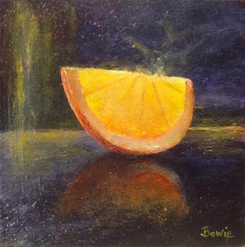 """Slice of Life"" original fine art by Maureen Bowie"