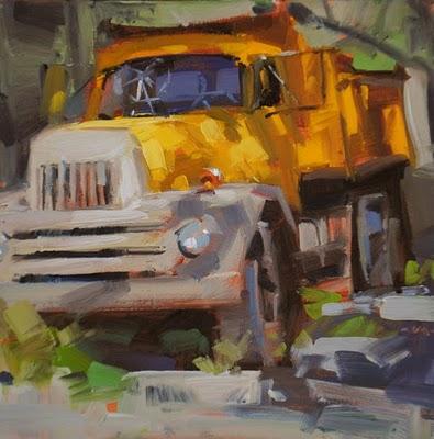"""Dappled Beast"" original fine art by Carol Marine"