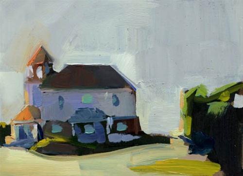 """1131 Bayside"" original fine art by Lisa Daria"