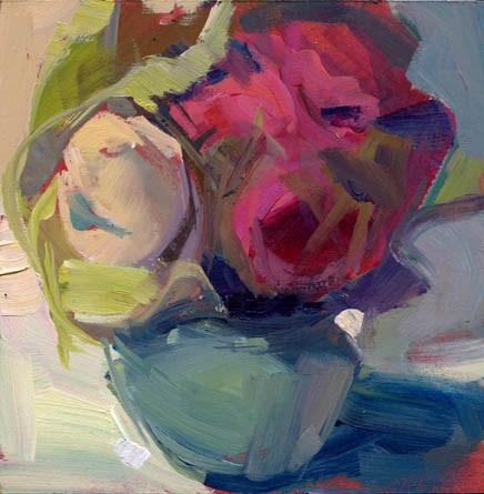 """""""1328 sidestep"""" original fine art by Lisa Daria"""