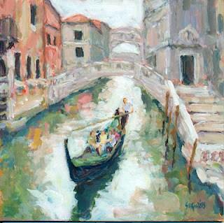 """""""Venice"""" original fine art by Shelley Garries"""