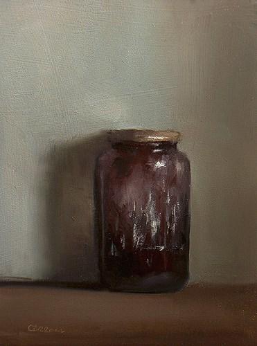 """""""Jam Jar"""" original fine art by Neil Carroll"""