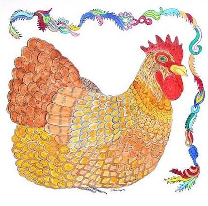 """""""Not A Sitting Duck"""" original fine art by Susan Medyn"""