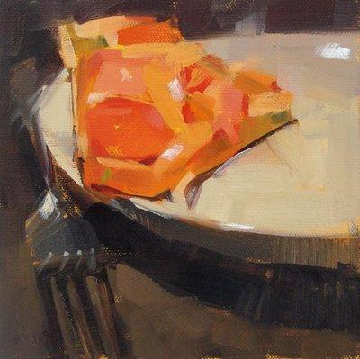 """Breakfast"" original fine art by Carol Marine"