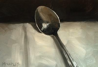 """Spoon Study"" original fine art by Michael Naples"