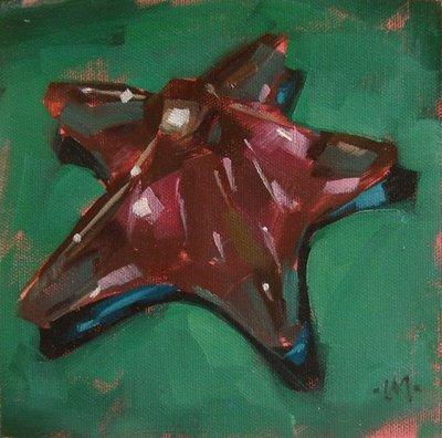 """""""Paperweight"""" original fine art by Carol Marine"""