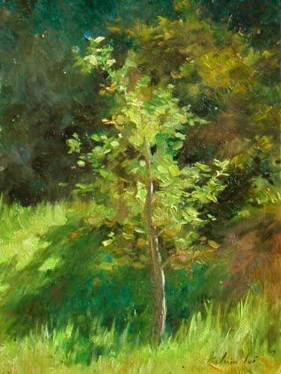 """Light and shadow"" original fine art by Kelvin Lei"