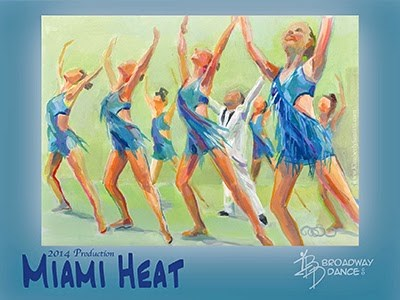 """""""Turn Up the Heat - Posters Available"""" original fine art by Kimberly Santini"""
