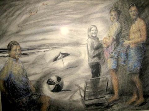 """""""Color Envy"""" original fine art by Priscilla Bohlen"""