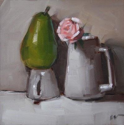 """A Closer Look --- SOLD"" original fine art by Carol Marine"