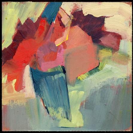 """2377 Untitled  & 2378 Bays"" original fine art by Lisa Daria"